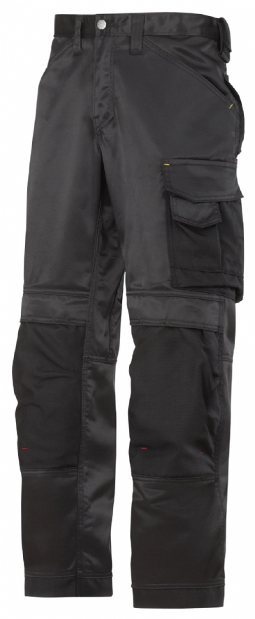 Snickers 3312 DuraTwill Craftsmen Trousers ( Black)